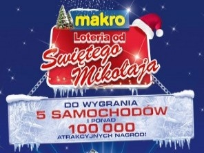Lottery from Santa Claus for Makro