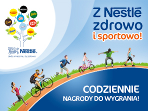 Healthy and sporty with Nestle