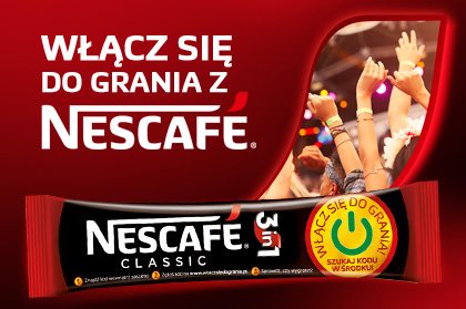 Join the NESCAFÉ game