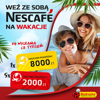 Contest NESCAFE for vacation!