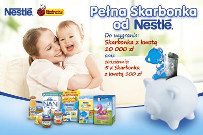 Full piggybank from Nestle